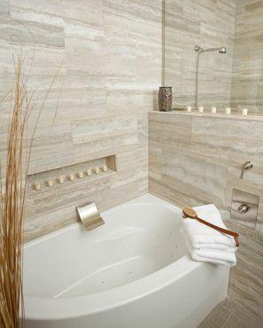 Natural Bathroom Tile Ideas 16