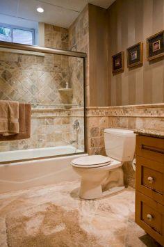 Natural Bathroom Tile Ideas 2