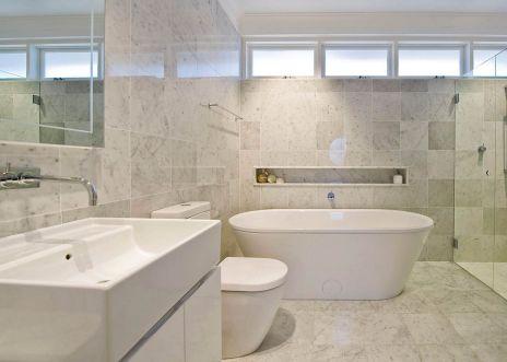 Natural Bathroom Tile Ideas 20