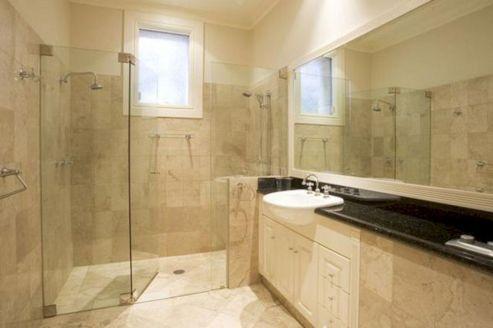 Natural Bathroom Tile Ideas 26
