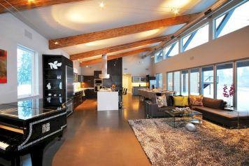 Northwest Contemporary Interior Design 1