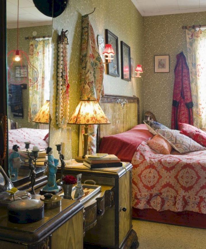 Romantic Vintage Bohemian Bedroom 20