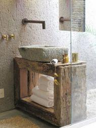 Rustic Bathroom Decorating Ideas 24