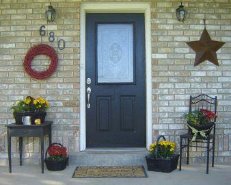 Tiny Front Porch Decorating Ideas 110