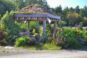 Backyard Flower Garden With Gazebo 17