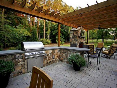 Backyard Living Space Design 1