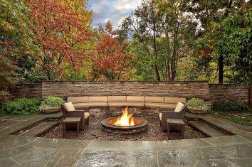 Backyard Living Space Design 10