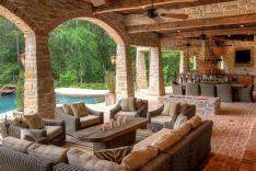 Backyard Living Space Design 11