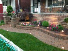 Brick Flower Bed Ideas 21
