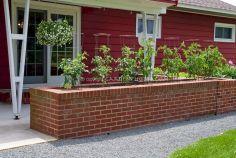 Brick Flower Bed Ideas 27