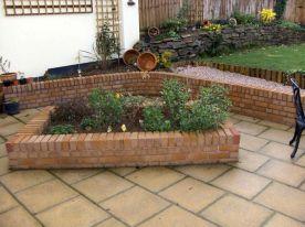 Brick Flower Bed Ideas 5