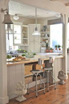 Coastal Farmhouse Kitchen Design 21