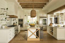 Coastal Farmhouse Kitchen Design 23