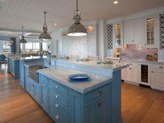Coastal Farmhouse Kitchen Design 5