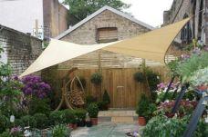 DIY Backyard Shade Structure 1