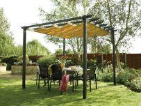 DIY Backyard Shade Structure 14