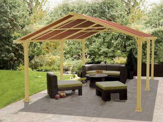 DIY Backyard Shade Structure 18
