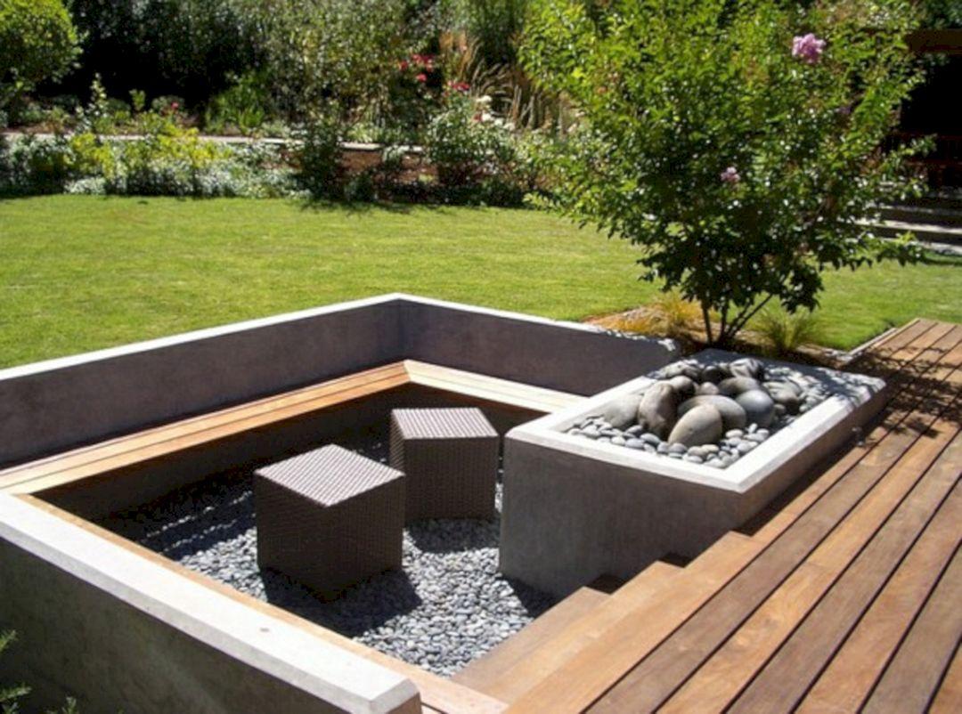Garden Design Ideas With Seating Area 19