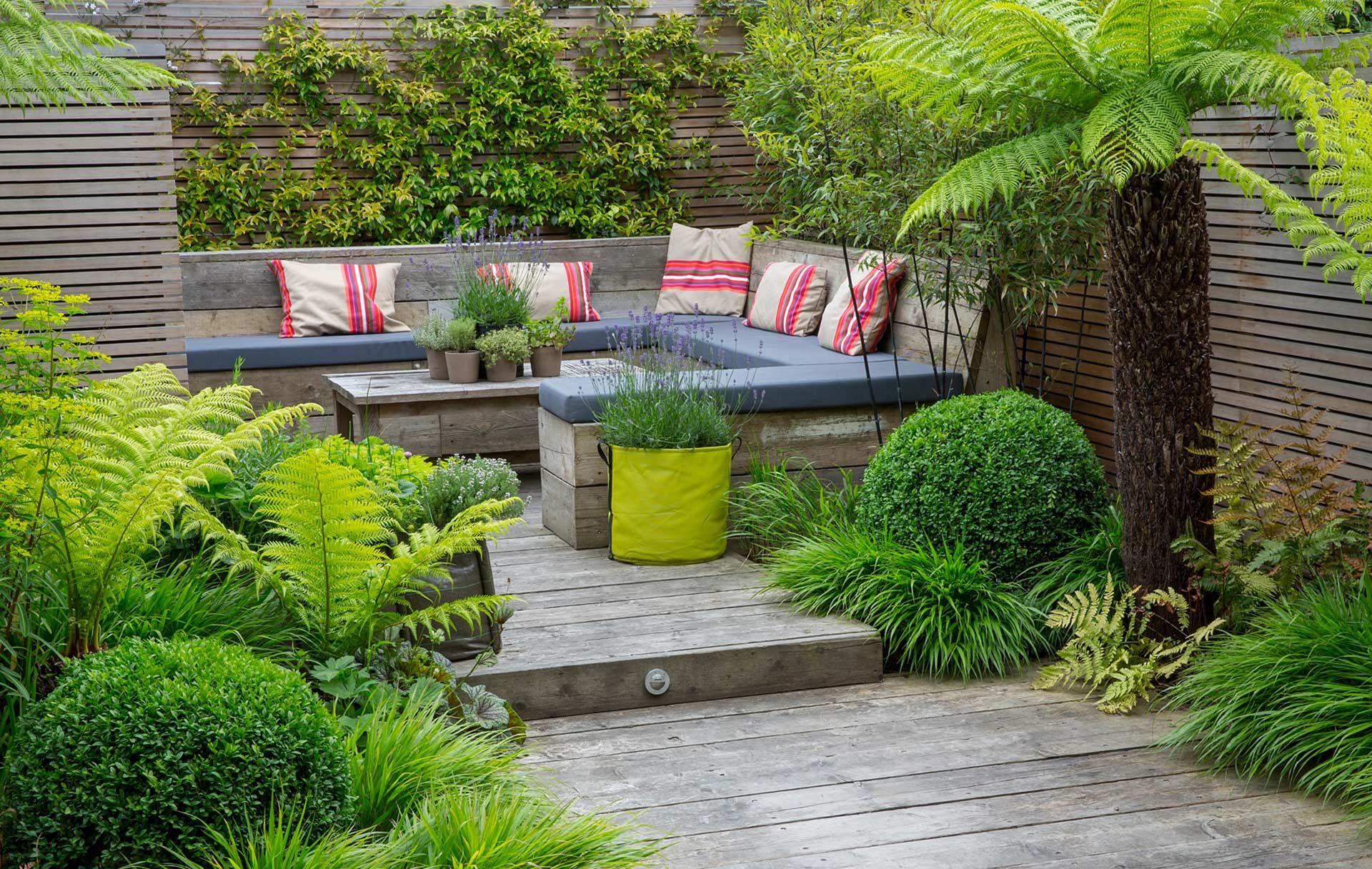 Garden Design Ideas With Seating Area 20