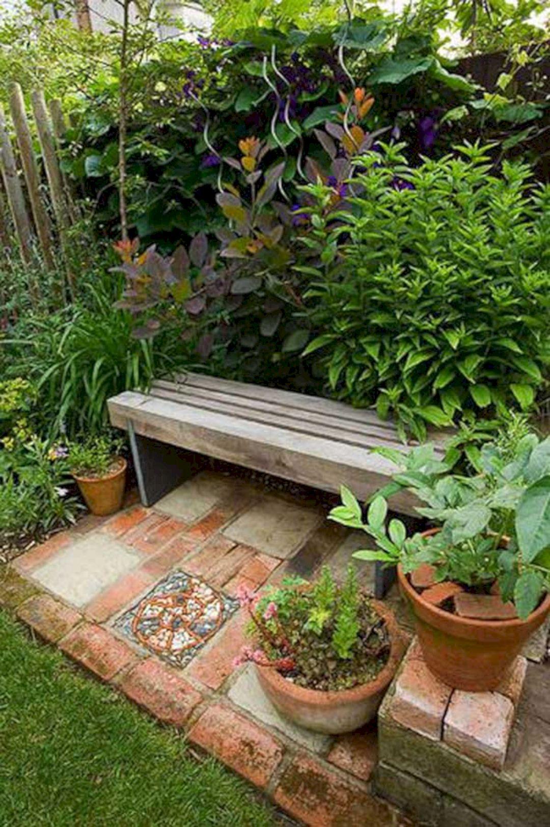 Garden Design Ideas With Seating Area 23