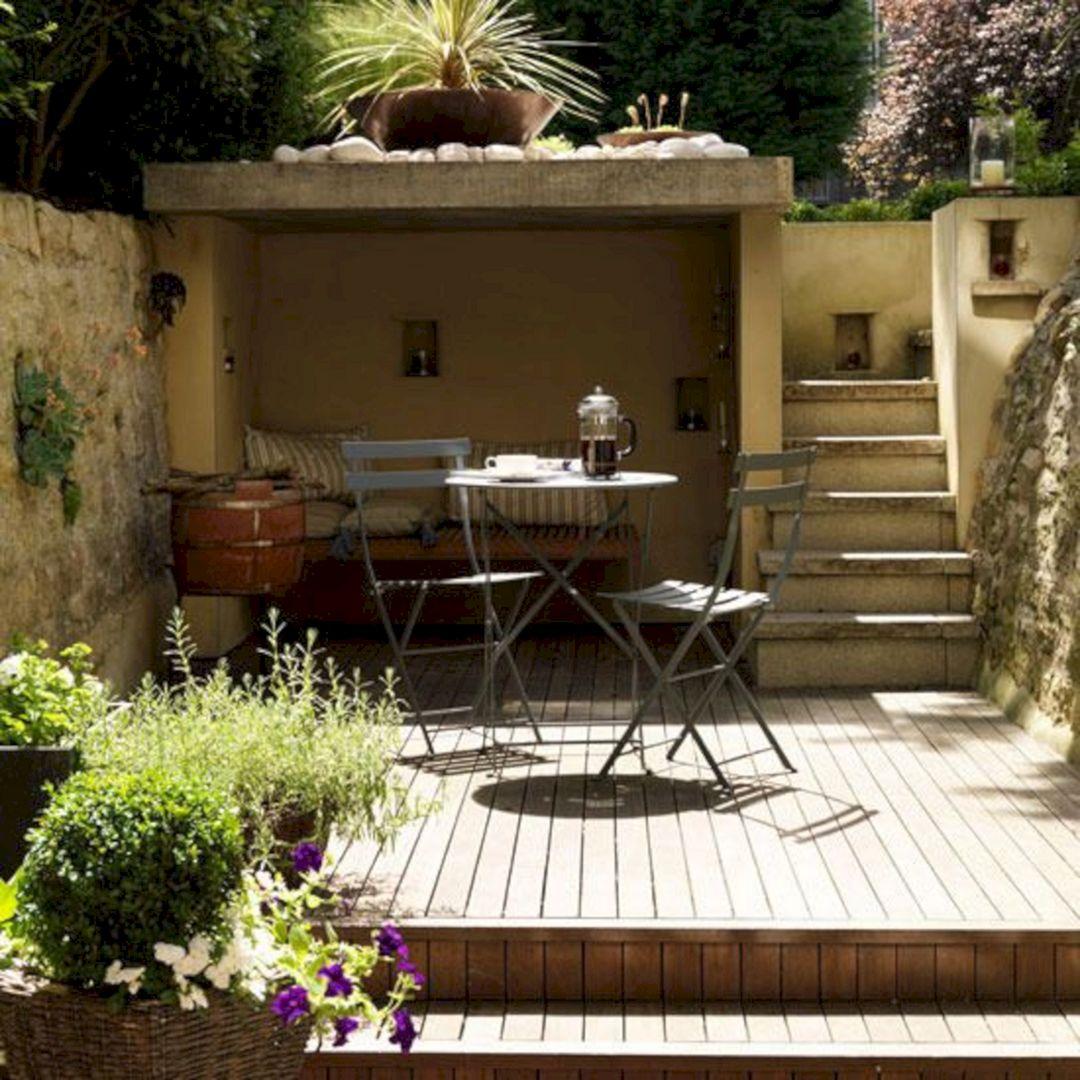 Garden Design Ideas With Seating Area 29