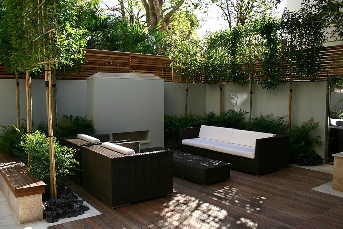 Garden Design Ideas With Seating Area 9
