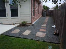 Gravel Backyard Design Ideas 16