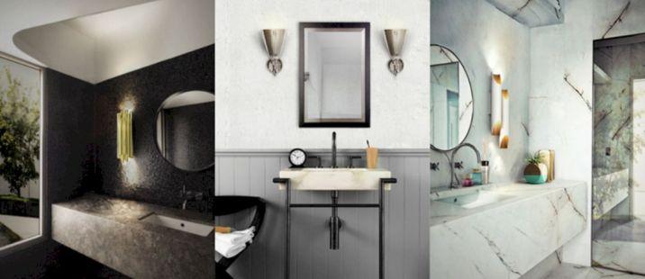 Industrial Small Bathroom Design 14