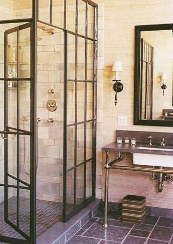 Industrial Small Bathroom Design 18