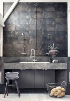 Industrial Small Bathroom Design 3