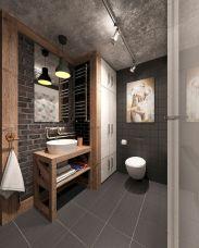 Industrial Small Bathroom Design 9