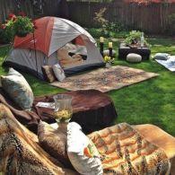Kids Backyard Camping Idea 15