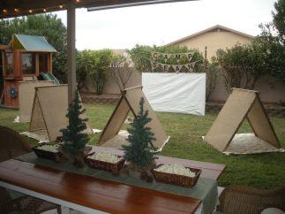 Kids Backyard Camping Idea 17