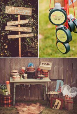 Kids Backyard Camping Idea 19