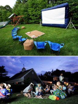 Kids Backyard Camping Idea 21