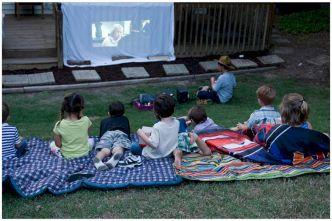 Kids Backyard Camping Idea 22