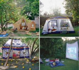 Kids Backyard Camping Idea 28