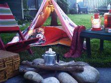 Kids Backyard Camping Idea 5