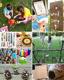 Kids Backyard Camping Idea 8