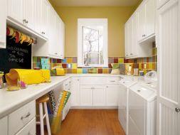 Laundry Craft Room Combo Design 14