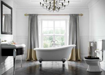 Modern Vintage Bathroom Design 21