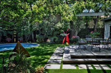 Backyard Garden Ideas With Seating Area 5