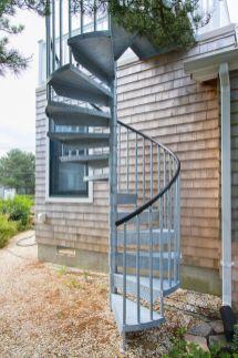 Exterior Spiral Staircase Ideas 10