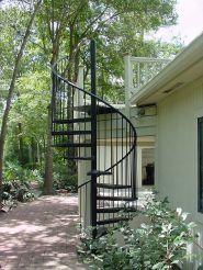 Exterior Spiral Staircase Ideas 15