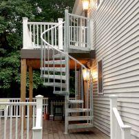 Exterior Spiral Staircase Ideas 16