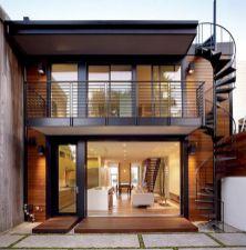 Exterior Spiral Staircase Ideas 9