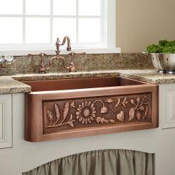 Farmhouse Sinks Design For Kitchen 27