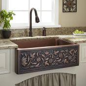 Farmhouse Sinks Design For Kitchen 29