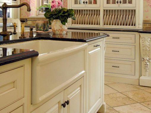 Farmhouse Sinks Design For Kitchen 4