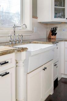 Farmhouse Sinks Design For Kitchen 9